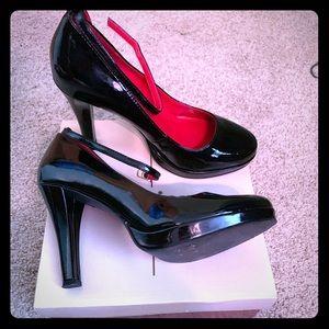 Delicious black Mary Janes
